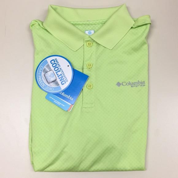 7d7520b6c66 Columbia Shirts | Pfg Zero Rules Polo Shirt Small | Poshmark